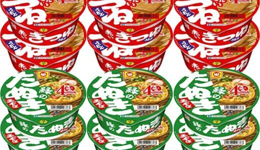 赤いきつねと緑のたぬきどっちが不味くてどっちが美味しい?麺、出汁、揚げと天ぷらが人気の理由!