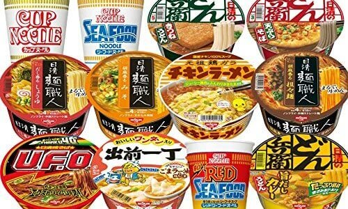 カップ麺人気商品ランキング!カップヌードルの時代は終わった?焼きそば系が上位に!