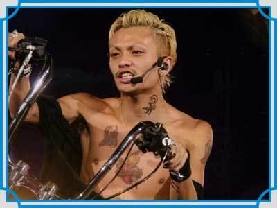 タトゥーが衝撃な芸能人ランキング田中聖